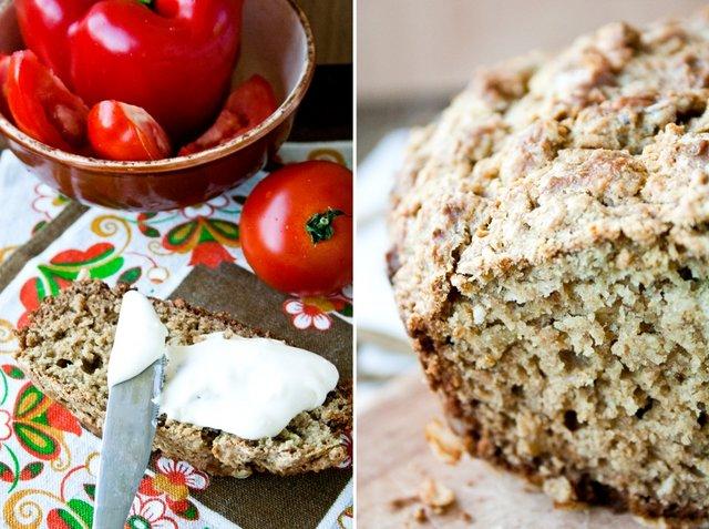 кулинария темы | Ирландский овсяный хлеб