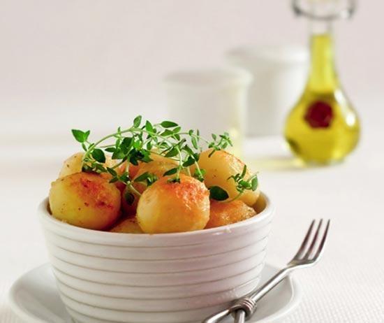 Картофель с медом