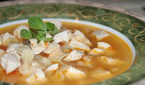 вкусняшки картинки | Суп с курицей и помидорами