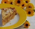 Пирог с начинкой из айвы и имбиря