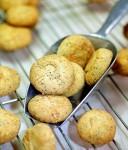 Печенье с айвой, лимоном и маком
