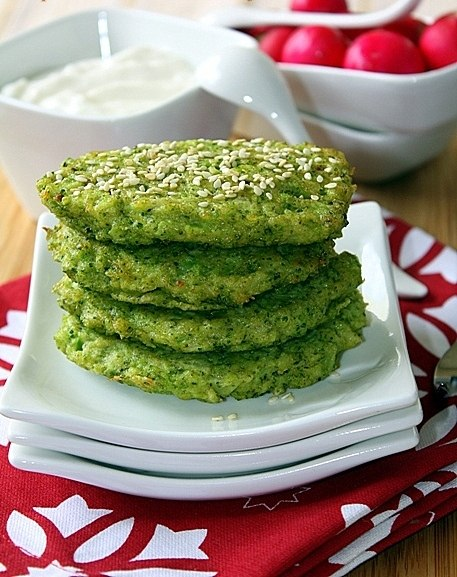 Оладьи из брокколи рецепты — просто