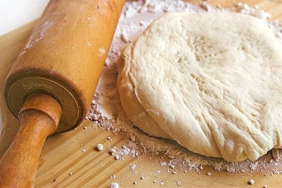 кулинария рецепты | Пресное бездрожжевое тесто для пиццы