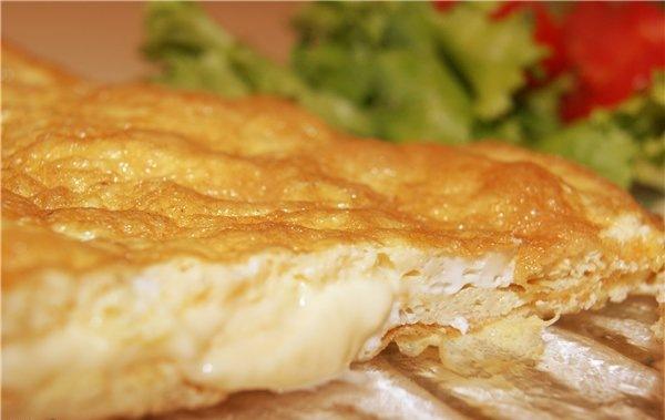 кулинария готовим | Омлет с сыром