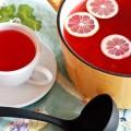 Клюквенный напиток с корицей, медом и лимоном «Здоровье»