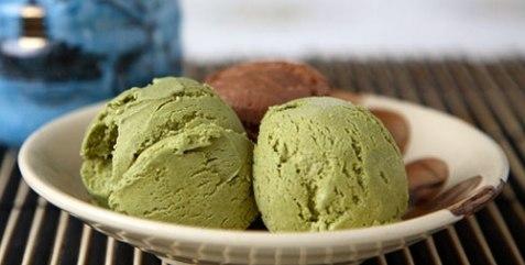 кулинария темы | Мороженое из зеленого чая