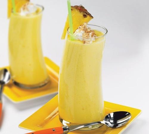 кулинария темы | Бананово-ананасовый смузи