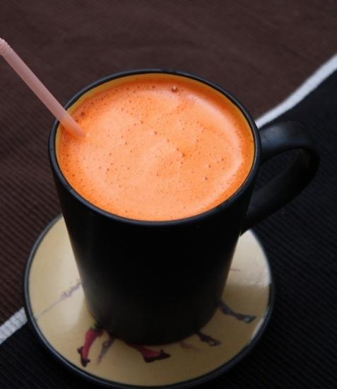 кулинария рецепты | Морковный напиток