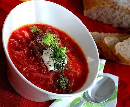 кухня русская | Борщ украинский