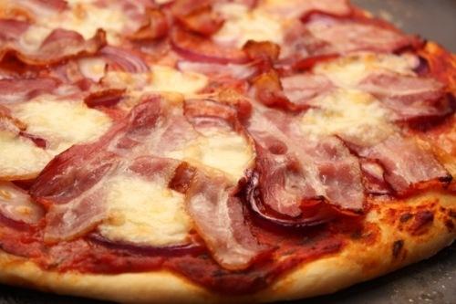 вкусняшки фото | Пицца с беконом