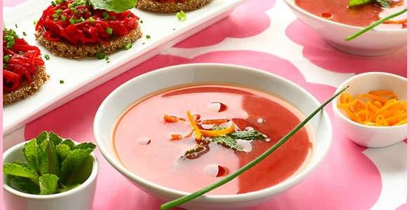 кулинария темы | Постный суп из свеклы с апельсиновой цедрой