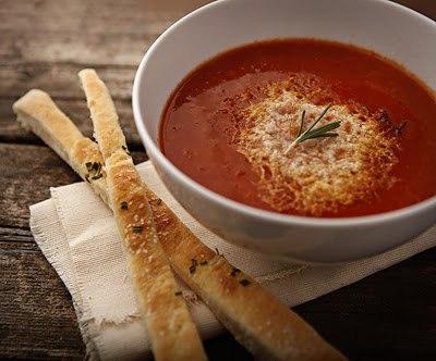 вкусняшки фото | Томатный суп-пюре