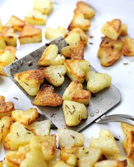 Запеченная картошка с тмином