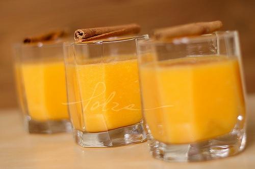 кулинария рецепты | Смузи из персика и апельсина