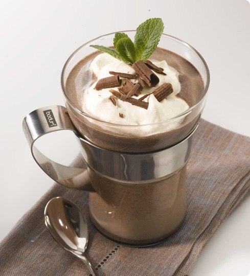 приготовить завтрак | Горячий кремовый шоколад