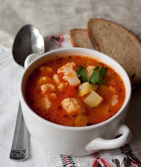 вкусняшки рецепты | Быстрый овощной суп