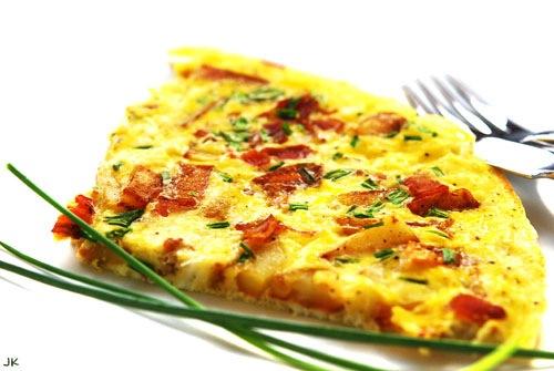 приготовить обед | Испанский картофельно-оливковый омлет