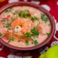 Густой томатный суп с рисом