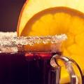 Безалкогольный глинтвейн в холодное утро