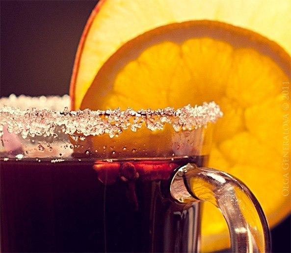 кулинария рецепты | Безалкогольный глинтвейн в холодное утро