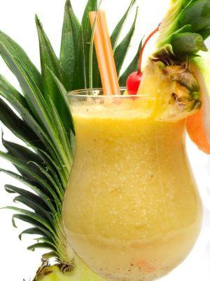 вкусняшки картинки | Тропический коктейль