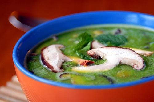 кулинария дома | Гороховый суп с грибами