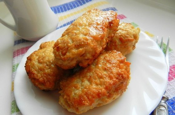 кулинария рецепты | Котлеты из куриного фарша с овсяными хлопьями
