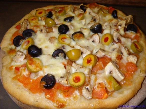 вкусняшки картинки | Пицца Капричоза