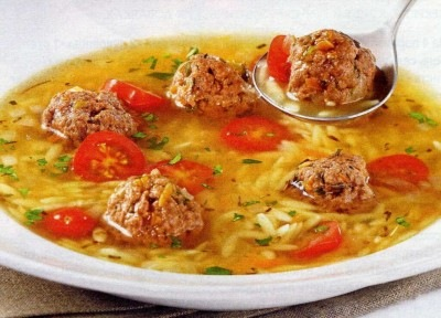 вкусняшки фото | Рисовый суп с фрикадельками