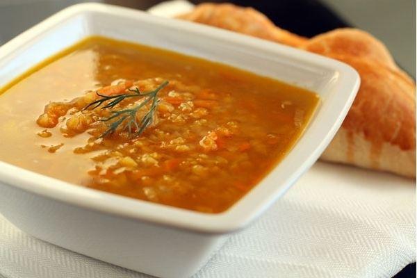 приготовить ужин | Суп из чечевицы