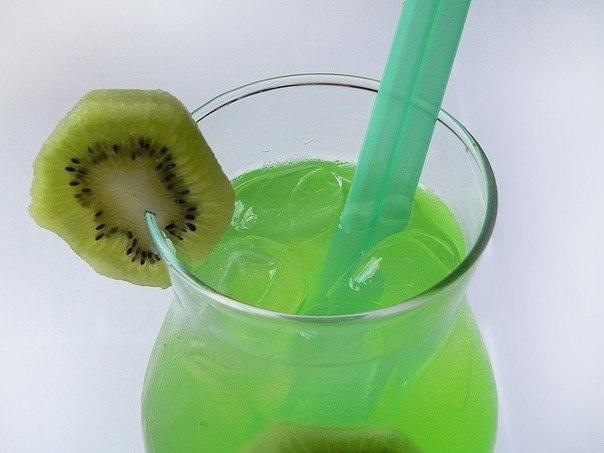 вкусняшки картинки | Лимонад из киви.