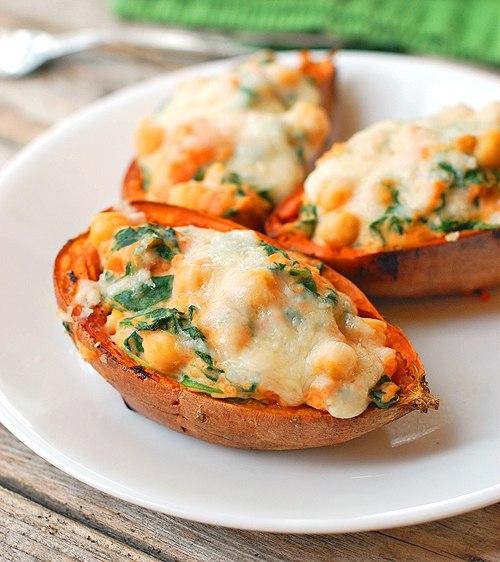 Горячая закуска «Картофельная лодочка»