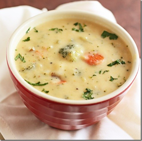 вкусняшки картинки | Сливочный суп из брокколи