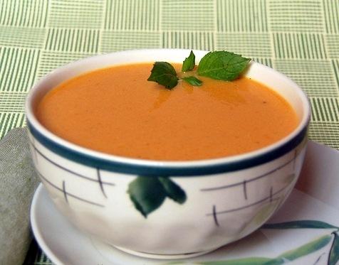 кулинария готовим | Сливочный суп-пюре с семгой