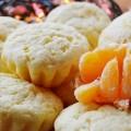 Творожные кексы с мандаринами