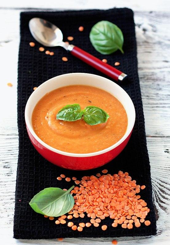 приготовить ужин | Морковный суп-пюре с чечевицей