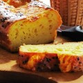 Закусочный сырный кекс