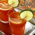 Морковно-апельсиновый сок с имбирем