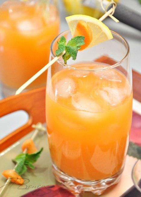кулинария дома | Витаминный имбирно-морковный коктейль «Ямайка»