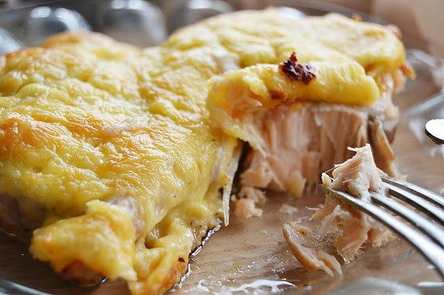 кулинария готовим | Горбуша под сыром