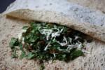 Лаваш с травами и сыром