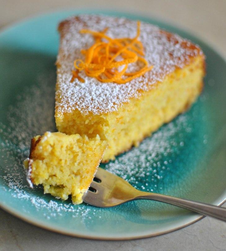 Апельсиновые кексы с апельсиновым сиропом