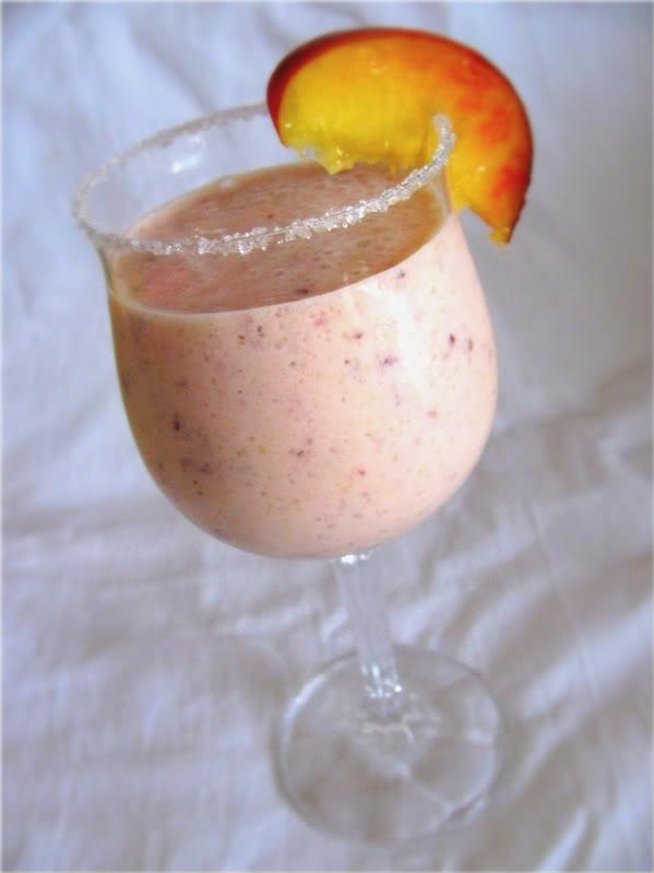 приготовить ужин | Коктейль персиковый