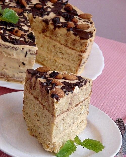 Торт из фасоли