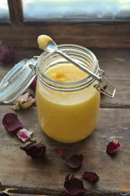 Заварной лимонный крем