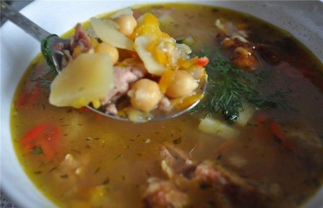 вкусняшки рецепты | Суп с нутом