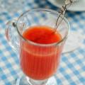 Грейпфрутовый кисель с ванилью