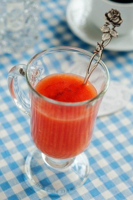 вкусняшки картинки | Грейпфрутовый кисель с ванилью