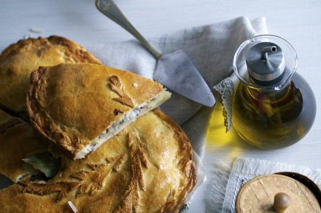 рецепты выпечка с картошкой и мясом