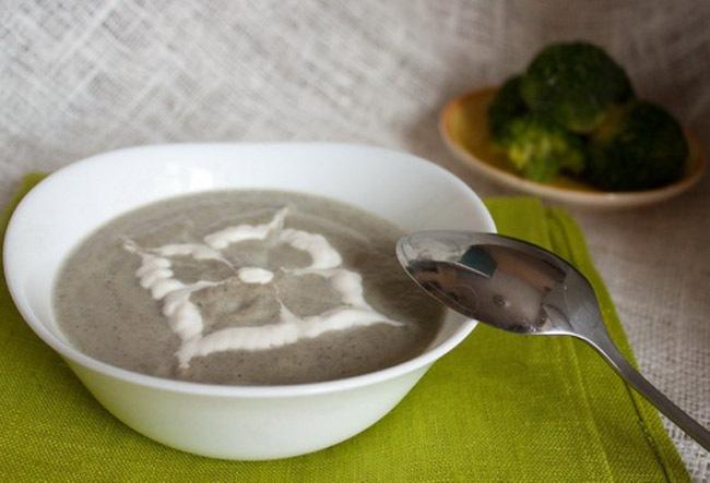 вкусняшки рецепты | Крем-суп из брокколи и шампиньонов